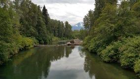 Ποταμός όπου; Στοκ Εικόνες