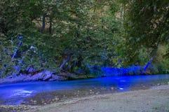 Ποταμός Acheror στη νύχτα Στοκ φωτογραφία με δικαίωμα ελεύθερης χρήσης