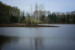 Ποταμός Aksakovo Στοκ φωτογραφία με δικαίωμα ελεύθερης χρήσης