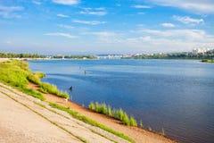 Ποταμός Angara στο Ιρκούτσκ Στοκ φωτογραφία με δικαίωμα ελεύθερης χρήσης
