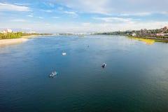 Ποταμός Angara στο Ιρκούτσκ Στοκ φωτογραφίες με δικαίωμα ελεύθερης χρήσης