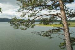 ποταμός angara Στοκ Φωτογραφία