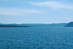 Ποταμός Angara Στοκ φωτογραφίες με δικαίωμα ελεύθερης χρήσης