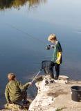 Ποταμός Aquitaine Γαλλία Στοκ εικόνες με δικαίωμα ελεύθερης χρήσης