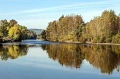 Ποταμός Aquitaine Γαλλία Στοκ Φωτογραφίες