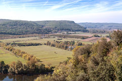 Ποταμός Aquitaine στοκ φωτογραφίες με δικαίωμα ελεύθερης χρήσης
