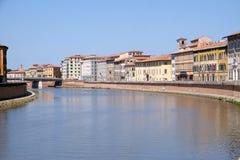 Ποταμός Arno, Πίζα στοκ εικόνες με δικαίωμα ελεύθερης χρήσης