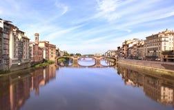 Ποταμός Arno, Φλωρεντία στοκ φωτογραφίες με δικαίωμα ελεύθερης χρήσης