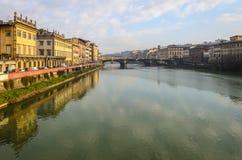 Ποταμός Arno στοκ φωτογραφίες