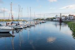 Ποταμός Ave Βίλα ντο Κόντε Στοκ Εικόνες