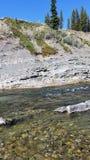 Ποταμός Backcountry Στοκ Εικόνες