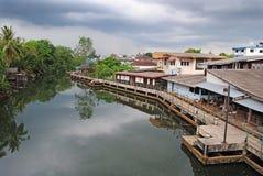 Ποταμός Bangpra Trat, Ταϊλάνδη Στοκ Φωτογραφίες