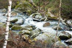 ποταμός belokurikha Στοκ φωτογραφία με δικαίωμα ελεύθερης χρήσης