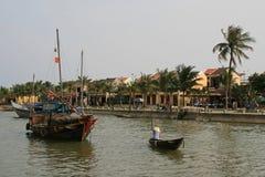 Ποταμός Bon Thu - Hoi - Βιετνάμ Στοκ φωτογραφίες με δικαίωμα ελεύθερης χρήσης