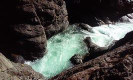 Ποταμός Breitenbush Στοκ φωτογραφίες με δικαίωμα ελεύθερης χρήσης