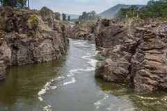 Ποταμός Cauvery Hogenakkal Στοκ Φωτογραφία