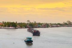 Ποταμός Chao Phraya Στοκ εικόνες με δικαίωμα ελεύθερης χρήσης
