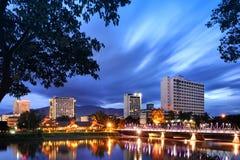 Ποταμός Chiang Mai Ταϊλάνδη μεταλλικού θόρυβου Στοκ εικόνες με δικαίωμα ελεύθερης χρήσης