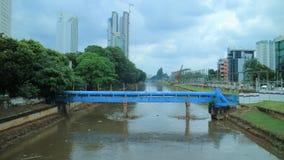 Ποταμός Ciliwung στοκ φωτογραφίες με δικαίωμα ελεύθερης χρήσης