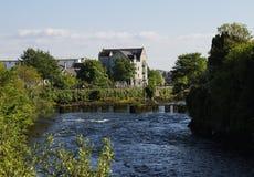 Ποταμός Corrib, Galway, Ιρλανδία Στοκ φωτογραφίες με δικαίωμα ελεύθερης χρήσης