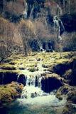 Ποταμός Cuervo, Cuenca φαραγγιών Ισπανία Στοκ Εικόνες