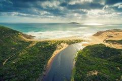 Ποταμός Darby, ακρωτήριο του Wilson ` s, Αυστραλία στοκ εικόνες