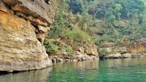 Ποταμός Dawki στοκ φωτογραφίες