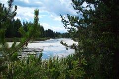 Ποταμός Dechutes Στοκ εικόνα με δικαίωμα ελεύθερης χρήσης