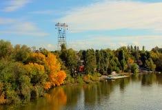 Ποταμός Dnieper, Dnepropetrovsk Στοκ εικόνες με δικαίωμα ελεύθερης χρήσης