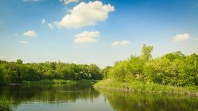 Ποταμός Dnipro Στοκ φωτογραφία με δικαίωμα ελεύθερης χρήσης