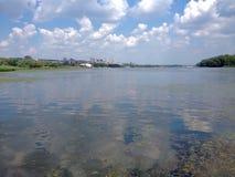 Ποταμός Dnipro Στοκ Φωτογραφίες