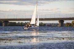 Ποταμός Dnipro Στοκ εικόνες με δικαίωμα ελεύθερης χρήσης