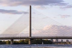 Ποταμός Dnipro Στοκ Εικόνες