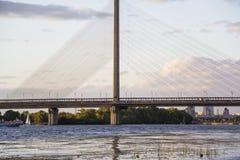 Ποταμός Dnipro Στοκ Εικόνα