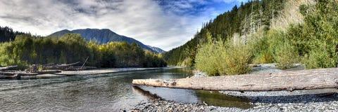 ποταμός elwha Στοκ Φωτογραφίες