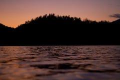 Ποταμός Enisei Στοκ εικόνα με δικαίωμα ελεύθερης χρήσης