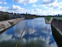 Ποταμός Exe στοκ φωτογραφία με δικαίωμα ελεύθερης χρήσης