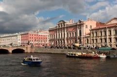 Ποταμός Fontanka σε Άγιο Πετρούπολη Στοκ Εικόνα