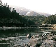 Ποταμός Fraser Στοκ εικόνες με δικαίωμα ελεύθερης χρήσης
