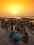 Ποταμός Ganga Στοκ φωτογραφία με δικαίωμα ελεύθερης χρήσης