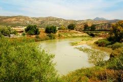 ποταμός genil στοκ φωτογραφία με δικαίωμα ελεύθερης χρήσης