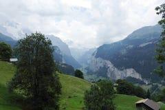 Ποταμός George Lutschine στις Άλπεις, Ελβετία Στοκ εικόνες με δικαίωμα ελεύθερης χρήσης