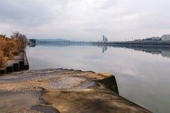 Ποταμός Hangang στη Σεούλ στοκ φωτογραφίες με δικαίωμα ελεύθερης χρήσης