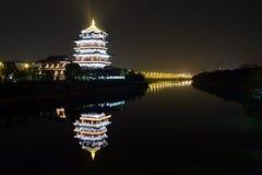 Ποταμός Huai Qin Στοκ Εικόνα