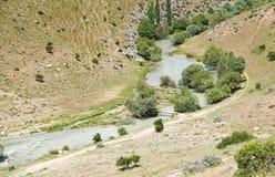 Ποταμός Hurman, Afsin Kahramanmaras, Τουρκία στοκ εικόνες