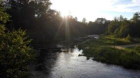 Ποταμός Ijora Στοκ φωτογραφία με δικαίωμα ελεύθερης χρήσης