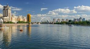 Ποταμός Ishim στοκ φωτογραφίες με δικαίωμα ελεύθερης χρήσης