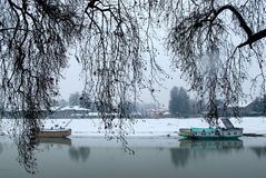 Ποταμός Jhelum Στοκ Φωτογραφίες
