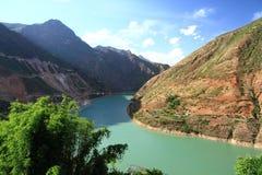 Ποταμός Jinsha στοκ εικόνες