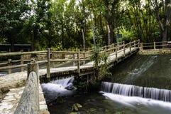 Ποταμός Jucar στοκ εικόνες με δικαίωμα ελεύθερης χρήσης